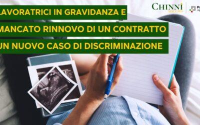 Lavoratrici in gravidanza e mancato rinnovo di un contratto a termine: un nuovo caso di discriminazione diretta